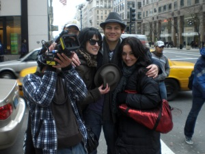 Ankit, Laura, Craig, Me