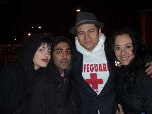 Laura, Ankit, Craig and Me